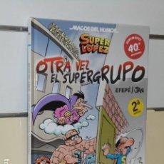 Cómics: MAGOS DEL HUMOR Nº 156 SUPER LOPEZ OTRA VEZ EL SUPERGRUPO JAN - EDICIONES B - OFERTA. Lote 188506567