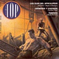 Cómics: TOP CÓMICS REVISTA DEL 1 AL 10 COMPLETA. Lote 120057779