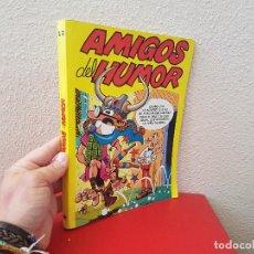 Cómics: TOMO AMIGOS DEL HUMOR RETAPADO Nº 12 SUPER MORTADELO 92 ZIPI Y ZAPE 114 TBO 30-31 EDICIONES B. Lote 120623047