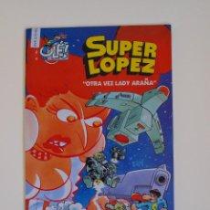 Comics : SUPER LOPEZ 34 - OTRA VEZ LADY ARAÑA - EDICIONES B - 1ª EDICION - GRAN FORMATO. Lote 120892475