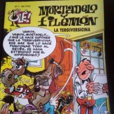Cómics: MORTADELO Y FILEMÓN. LA TERGIVERSICINA. OLÉ Nº 7 2ª EDICION. AÑO 1996. Lote 121635295