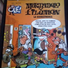 Cómics: MORTADELO Y FILEMON LA GOMEZTROIKA COLECCION OLE Nº 8 , TAMAÑO GRANDE TAPA BLANDA EDICIONES B. Lote 121636295