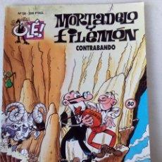 Cómics: OLÉ!. Nº 58. MORTADELO Y FILEMÓN. CONTRABANDO. EDICIONES B. 1ª EDC. 1994. Lote 121645707