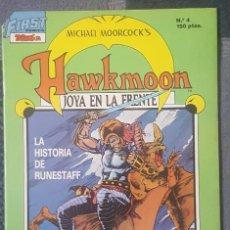 Cómics: HAWKMOON #4 (TEBEOS SA, 1988). Lote 121651687