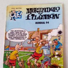 Cómics: OLE ! MORTADELO Y FILEMON Nº 65 MUNDIAL 94 . EDICIONES B .1º EDICIÓN MAYO 94. Lote 121661971