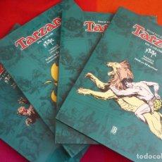 Cómics: TARZAN VOLUMEN 1, 2, 3 Y 4 ¡COMPLETA! ( HAL FOSTER ) ¡MUY BUEN ESTADO! TAPA DURA EN COLOR GIGANTE. Lote 121743979