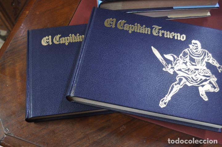 Cómics: EL CAPITAN TRUENO VICTOR MORA facsímil apaisado- 11 TOMOS - ED. B - COM - Foto 3 - 121792075