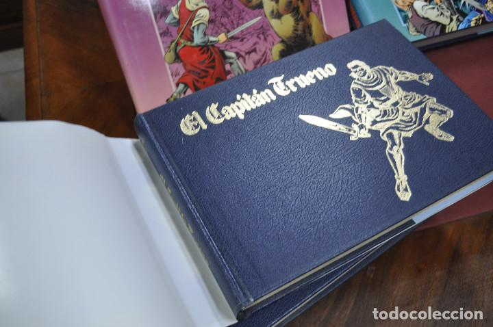 Cómics: EL CAPITAN TRUENO VICTOR MORA facsímil apaisado- 11 TOMOS - ED. B - COM - Foto 6 - 121792075