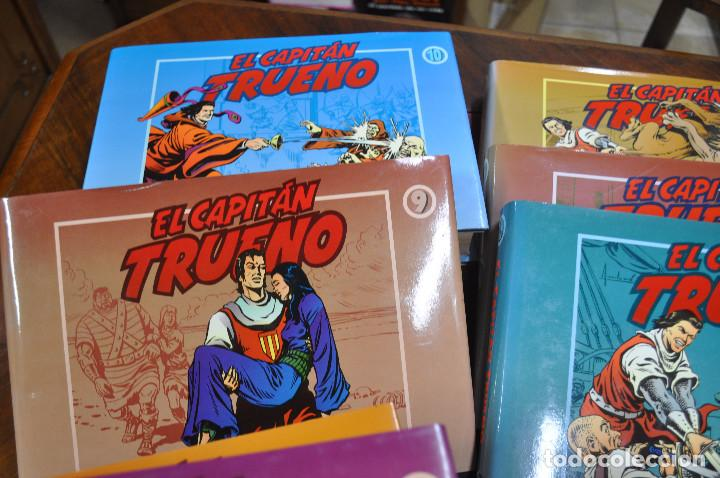 Cómics: EL CAPITAN TRUENO VICTOR MORA facsímil apaisado- 11 TOMOS - ED. B - COM - Foto 8 - 121792075