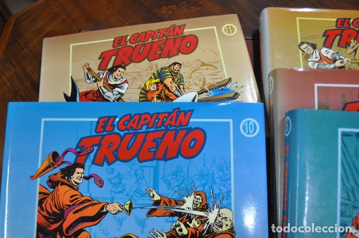 Cómics: EL CAPITAN TRUENO VICTOR MORA facsímil apaisado- 11 TOMOS - ED. B - COM - Foto 9 - 121792075