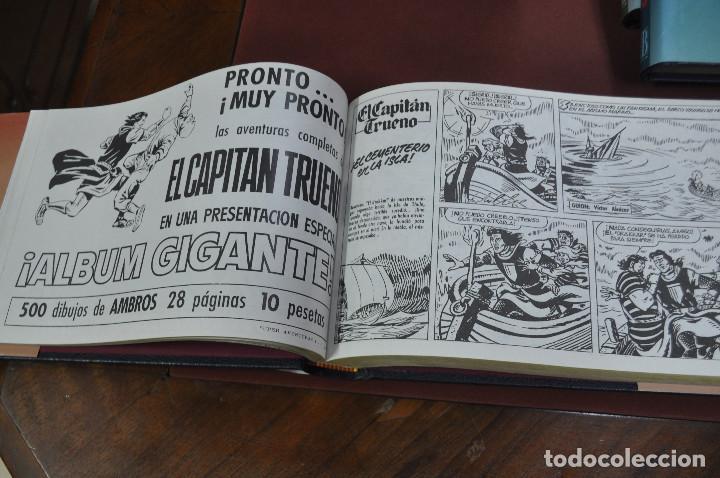 Cómics: EL CAPITAN TRUENO VICTOR MORA facsímil apaisado- 11 TOMOS - ED. B - COM - Foto 10 - 121792075