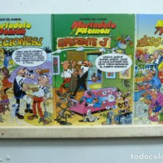 Cómics: MORTADELO Y FILEMON LOTE DE 3 MAGOS DE HUMOR. Lote 121887063