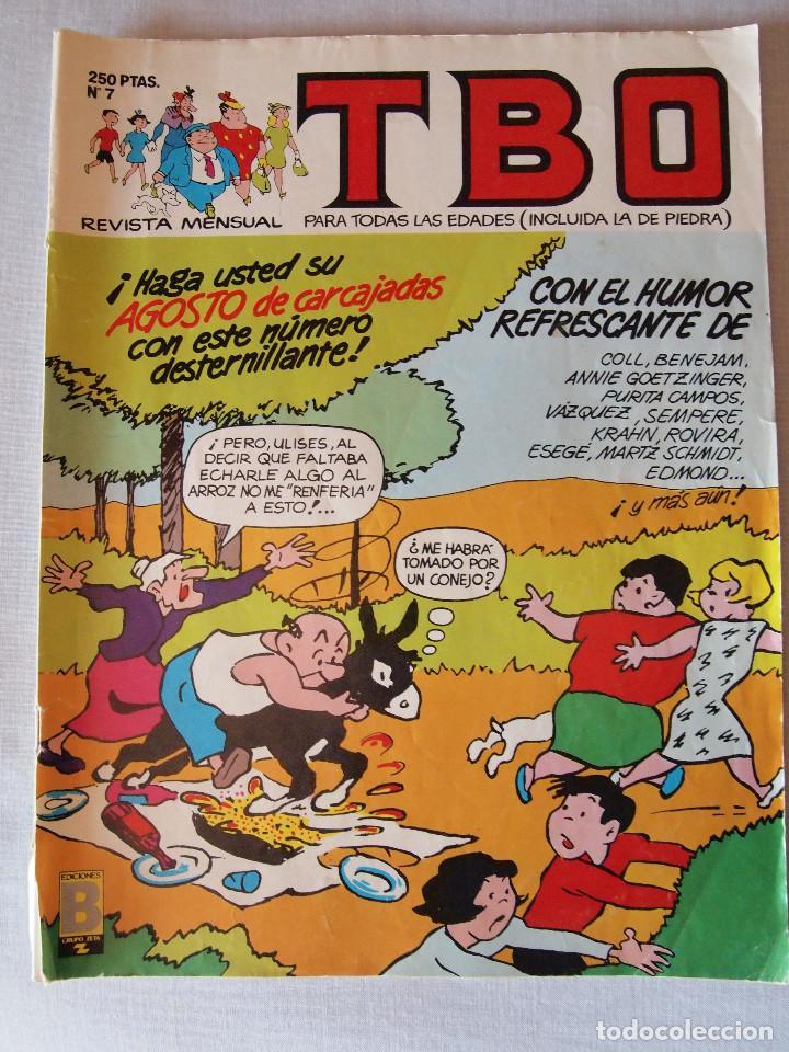 TBO, Nº 7 EDICIONES B. AÑO 1988 (Tebeos y Comics - Ediciones B - Otros)