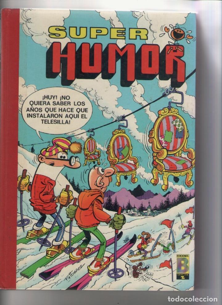 Super humor-b.s.a.-año 1988-color-formato prestige-1ª edicion-ibañez-escobar-nº 55, usado segunda mano