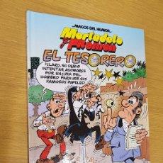 Cómics: MORTADELO Y FILEMON EL TESORERO - MAGOS DEL HUMOR Nº 167 - EDICIONES B.PRIMERA EDICIÓN. Lote 122743031