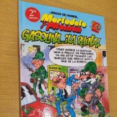 Cómics: MAGOS DEL HUMOR. Nº 124. MORTADELO Y FILEMÓN. GASOLINA .. ¡LA RUINA!. EDICIONES B.. Lote 122743151