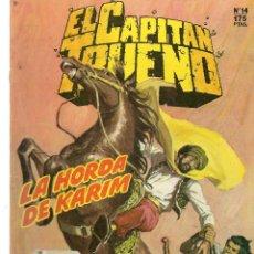 Cómics: EL CAPITÁN TRUENO. HISTÓRICA. Nº 14. LA HORDA DE KARIM. EDICIONES B.(ST/A12). Lote 124053707