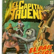 Cómics: EL CAPITÁN TRUENO. HISTÓRICA. Nº 5. EL PAIS DE LOS FARAONES. EDICIONES B.(ST/A12). Lote 124190711