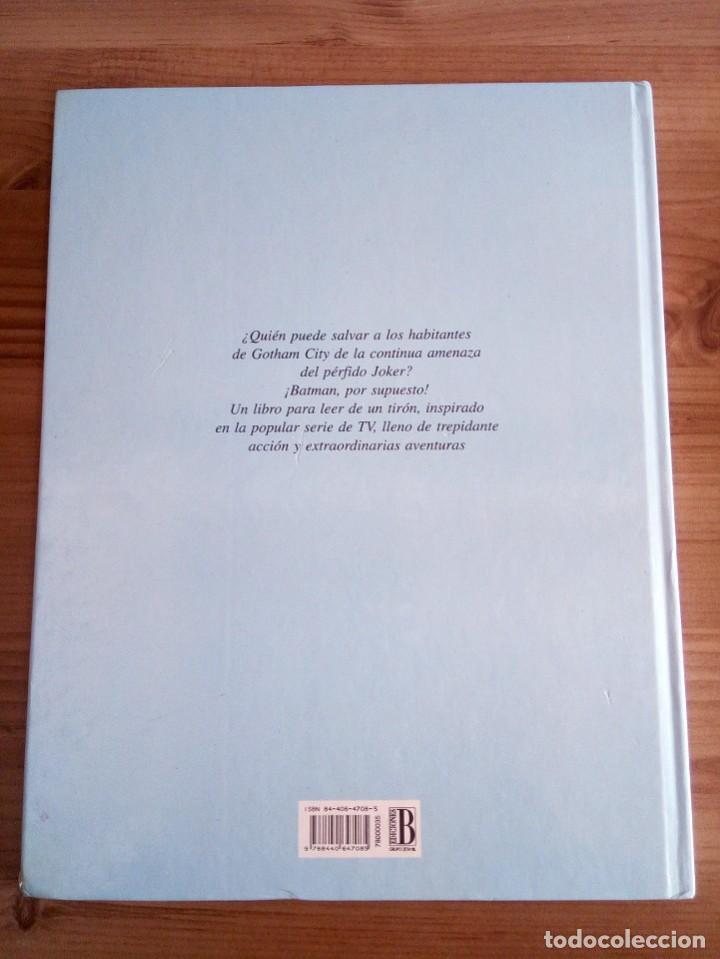 Cómics: EL GRAN LIBRO DE BATMAN. SERIE DE DIBUJOS ANIMADOS. EDICIONES B. 1 ª ED 1994 - Foto 4 - 124441343