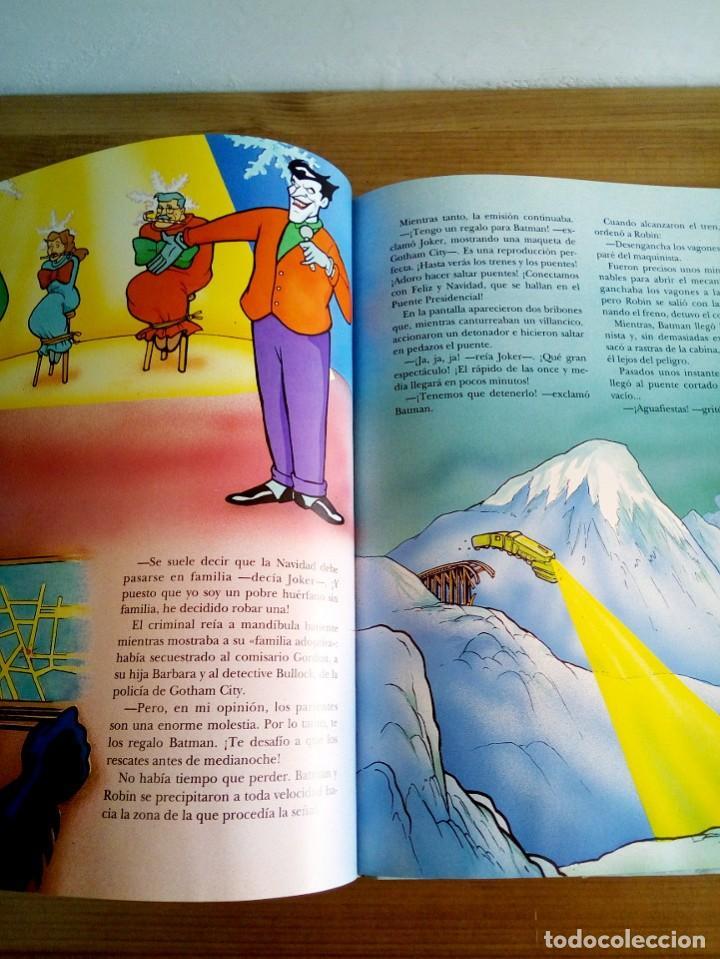 Cómics: EL GRAN LIBRO DE BATMAN. SERIE DE DIBUJOS ANIMADOS. EDICIONES B. 1 ª ED 1994 - Foto 6 - 124441343