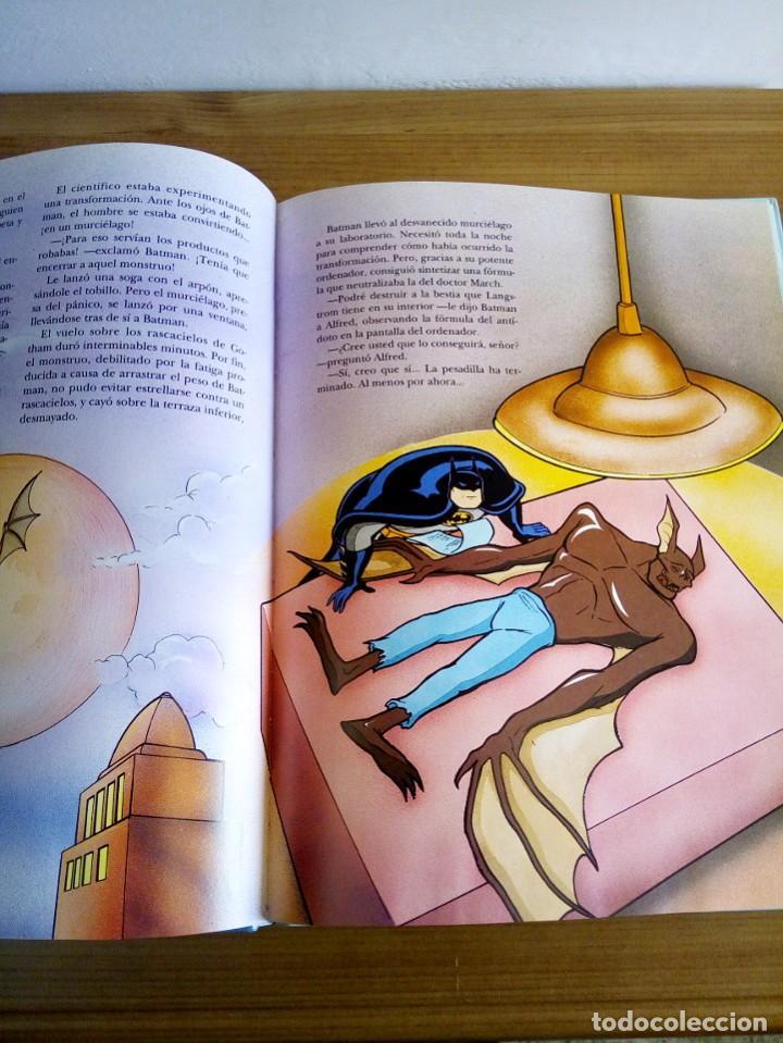 Cómics: EL GRAN LIBRO DE BATMAN. SERIE DE DIBUJOS ANIMADOS. EDICIONES B. 1 ª ED 1994 - Foto 7 - 124441343