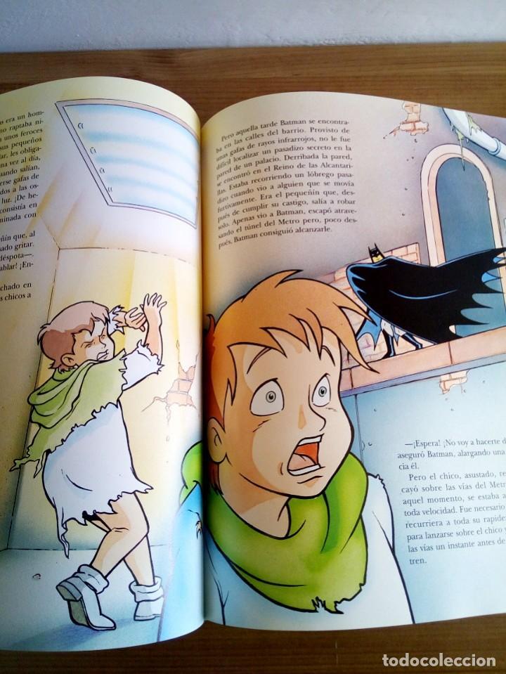 Cómics: EL GRAN LIBRO DE BATMAN. SERIE DE DIBUJOS ANIMADOS. EDICIONES B. 1 ª ED 1994 - Foto 8 - 124441343