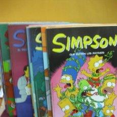 Cómics: SIMPSON. 25 EJEMPLARES COMICS BONGO. EDICIONES B 2004.. Lote 124611239