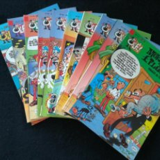 Cómics: MORTADELO Y FILEMON COLECCION OLE LOTE DE 10 NÚMEROS SUELTOS. Lote 124614238