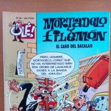 Cómics: MORTADELO Y FILEMÓN. EL CASO DEL BACALAO.. Lote 124710126