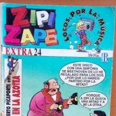 Cómics: ZIPI Y ZAPE EXTRA 24. LOCOS POR LA MÚSICA.. Lote 124715172
