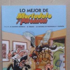Cómics: LO MEJOR DE MORTADELO Y FILEMÓN. EDICIÓN NO VENAL (EDICIONES B, 2005).. Lote 125037182