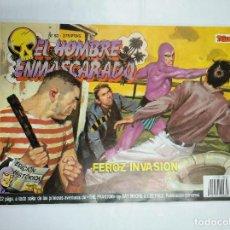 Cómics: EL HOMBRE ENMASCARADO. Nº 52. FEROZ INVASION. EDICION HISTORICA. TEBEOS EDICIONES B. TDKC35. Lote 125079091
