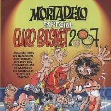 Cómics: MORTADELO ESPECIAL EURO BASKET 2007 (F. IBAÑEZ) EDICIONES B - TAPA DURA - IMPECABLE - OFI15. Lote 125112543