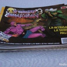 Cómics: EL HOMBRE ENMASCARADO EDICION HISTÓRICA LOTE DE 35 EJEMPLARES.. Lote 125282343