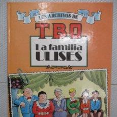 Cómics: LOS ARCHIVOS DEL TBO LA FAMILIA ULISES TAPA DURA BENEJAM. Lote 125430891