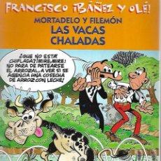 Cómics: FRANCISCO IBAÑEZ Y OLE!. MORTADELO Y FILEMON. LAS VACAS CHALADAS. 2001. Lote 125693019