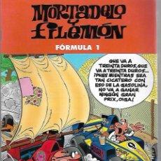 Cómics: MORTADELO Y FILEMON. FORMULA 1. EDICIONES B. 2003. Lote 125695299