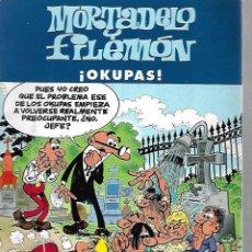 Cómics: MORTADELO Y FILEMON. ¡OKUPAS!. EDICIONES B. 2003. Lote 125695343