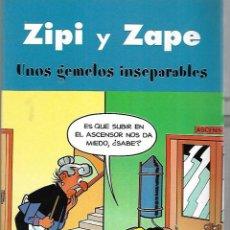 Cómics: ZIPI Y ZAPE. UNOS GEMELOS INSEPARABLES. EDICIONES B. 2003. Lote 125701723