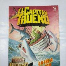 Cómics: EL CAPITÁN TRUENO. EDICION HISTÓRICA. Nº 77. LA ISLA DE IAN. EDICIONES B. TDKC32. Lote 125862375