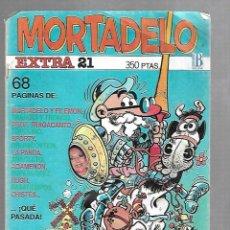 Cómics: TEBEO. MORTADELO EXTRA 21. EDICIONES B.. Lote 125909615