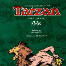 Cómics: TARZAN EN COLOR. VOLUMEN 4 (1934-1935). EDITADO POR BILL BLACKBEARD. SIN DESPRECINTAR. Lote 126007508
