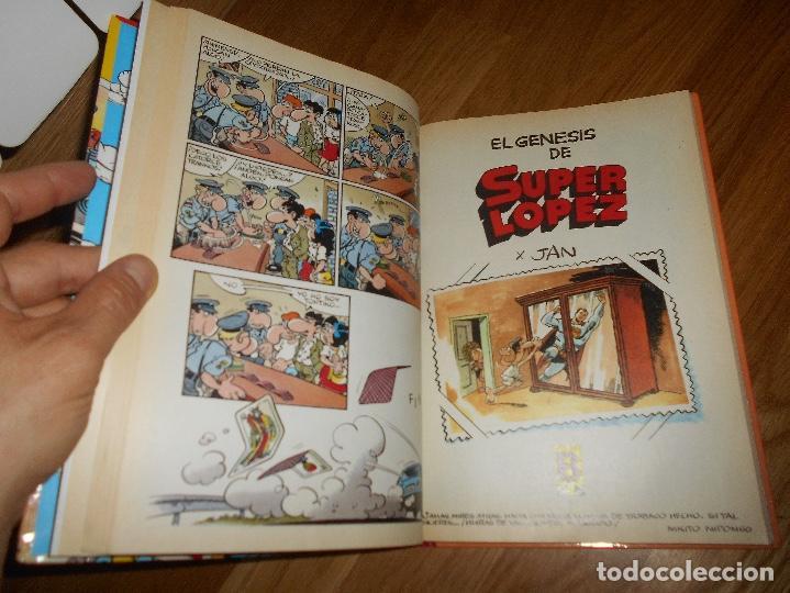 Cómics: SUPER LÓPEZ TOMO 3 - JAN EDICIONES B 1ª EDICIÓN 1989 CÓMIC HUMOR SUPERLÓPEZ HISTORIAS GÉNESIS Y - Foto 3 - 126918807