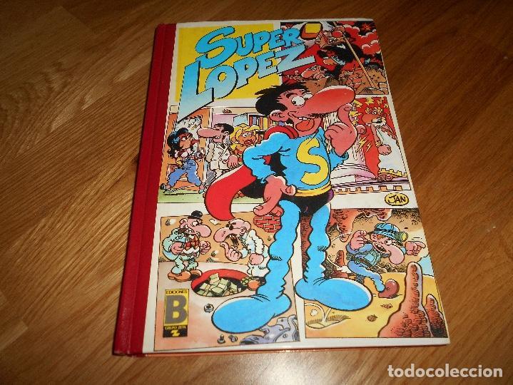 TOMO SUPERHUMOR SUPER LOPEZ SUPERLOPEZ Nº 2. JAN. EDICIONES B. 1ª EDICIÓN 1987. HUMOR BUEN ESTADO (Tebeos y Comics - Ediciones B - Humor)