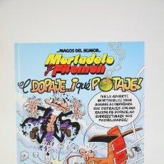 Cómics: CÓMIC TAPA DURA - MORTADELO Y FILEMON / EL DOPAJE... ¡QUÉ POTAJE! - EDICIONES B - AÑO 2007. Lote 127048464