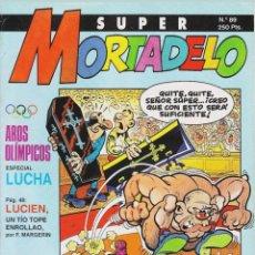 Cómics: COMIC N°89 SUPER MORTADELO 1987. Lote 127689043