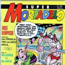 Cómics: COMIC N°90 SUPER MORTADELO 1987. Lote 127693323