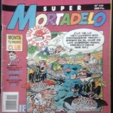 Cómics: COMIC N°110 SUPER MORTADELO 1987. Lote 127700135