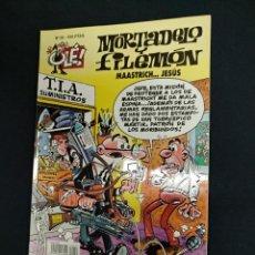 Comics : MORTADELO Y FILEMON - Nº 50 - MAASTRICH...JESUS - 1ª EDICION - EDICIONES B -. Lote 189134881
