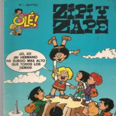 Cómics: OLÉ!. Nº 1. ZIPI Y ZAPE. (RELIEVE). EDICIONES B. 1993.(ST/A16). Lote 287816068